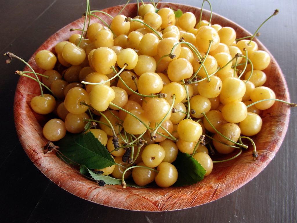 Желтоплодная черешня Чермашная
